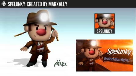 Spelunky | Smashified by MarxallyHD