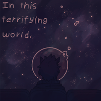 In this terrifying world by iLee-Font