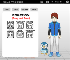 me as a pokemon trainer by supertoad129