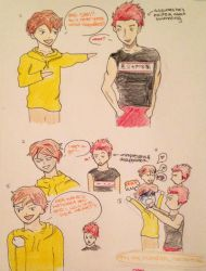 Only one Mikoshiba can have Gou by Origamimacaron