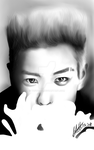 T.O.P - my first digital painting!!! by tofu0004