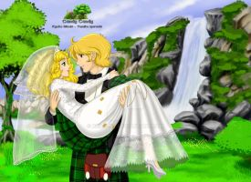 Candy y Albert - Forever Begins Today by Keila-Nt