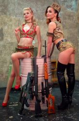 armed n dangerous backstage by SovietDOOMer