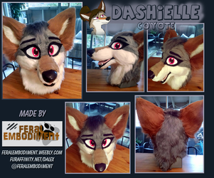 Dashielle Coyote Revamp by Dash-Coyote