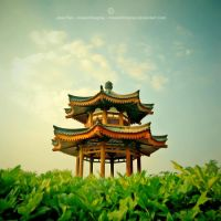 Pagoda, Xi'an by JeanFan