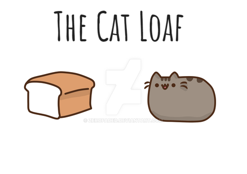 Cat Loaf by ZeroFaded