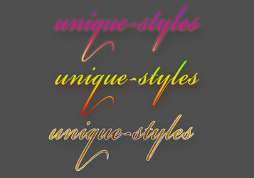 Unique Styles by Lucas-Editions