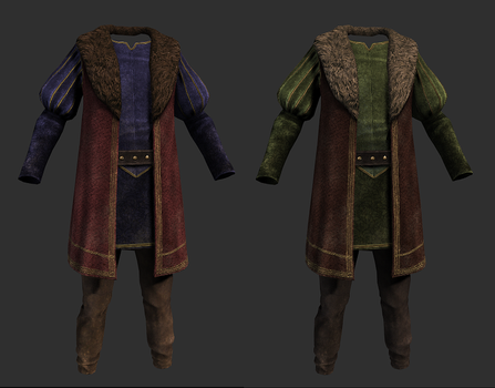 Colovian Noble Clothes by SteelFeathers