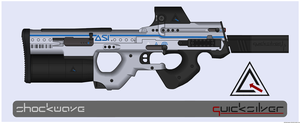 Quicksilver Industries: 'Lycaon' PDW by Shockwave9001