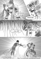 Capter  1 Page  (Sailor Moon Doujinshi II) by SilverSerenity1983
