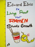 RAMEN STUNTS GROWTH by starbuxx
