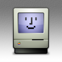 Happy Mac Icon by marc2o
