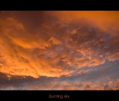 Burning sky by winter99