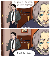 Hank you bastard(no u r not) by Lusass