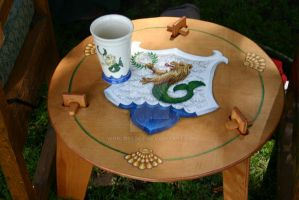 Lyondemere Table by WorldsEdge