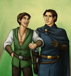 Commish - Cailan and Aldric by JadeRaven93