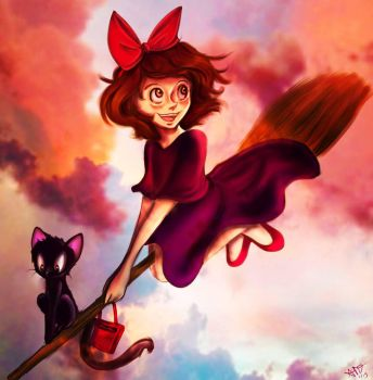 Kiki's Joyride by Checker-Bee