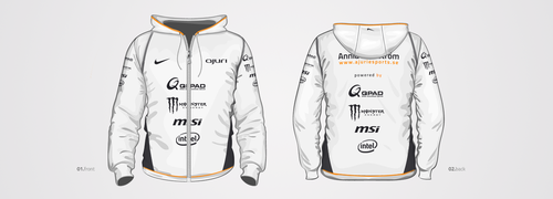 AJURI E-Sports - Hoodie Graphics by Digibrand
