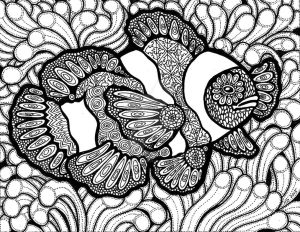 Lines of the Clownfish (FOR SALE) by HGCreations