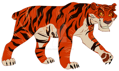 Scars and Stripes - Commission by Nala15