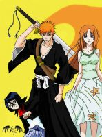 Bleach Trio by l3xxybaby