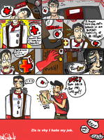 TF2- Don't Let Us Down, Medic by KemonoFangs