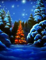 Lonely Christmas by emizael