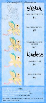 MLP: Commission Sheet by ChocolateQuill