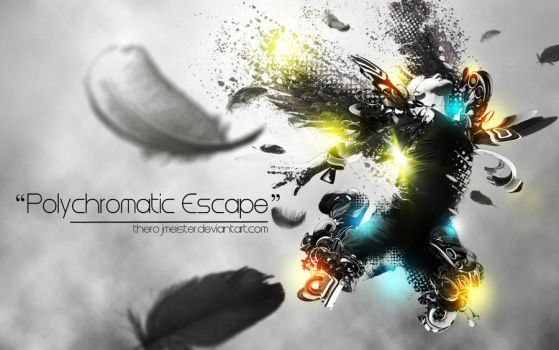 Polychromatic Escape by theROJMEISTER