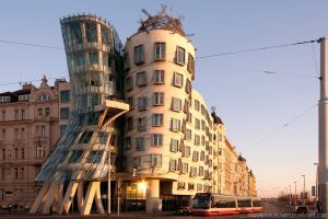 Dancing house by MidwinterDreamer