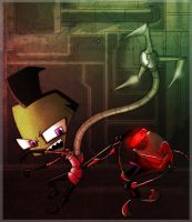 _.Gir Goes Psycho and Stuff._ by Metros2soul