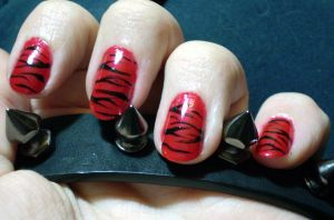 Walk on the Wild Side - Red Tiger by shadowcat-666