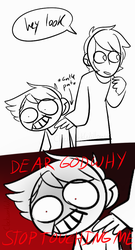 Styop Of Touchign His Wing He Hurt by ClockworkWillow