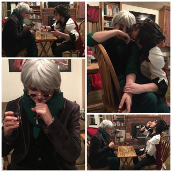 [RWBY] Cloqwork Chess Part 2 by BaconFlavoredCosplay