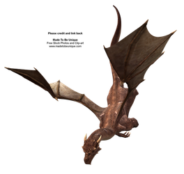 FREE Flying Hgh Quality Dragon by madetobeunique