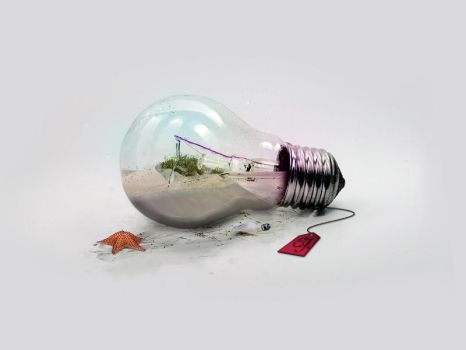 Lightbulb Collection - Dreams by Funialstwo