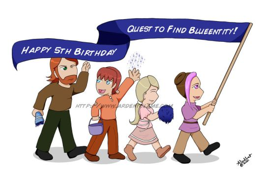 Fifth Anniversary Parade by Purplefire40