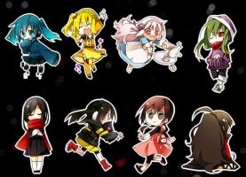Rocketdock: Kagerou Project by milkkybunny