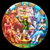 ORACLE OF SEASONS / AGES by bellhenge