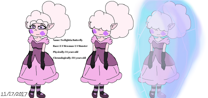 Eclipsa's Granddaughter: Twilightia Butterfly by Elzathehedgehog