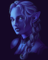 Inquisitor Lavellan by Pandion-Equine