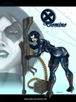 XMEN DOMINO - COLORS by DSNG