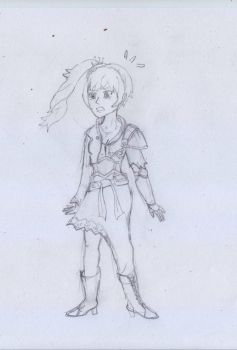 SKETCH : Jaune Arc Into Weiss Schnee TG by NADMH