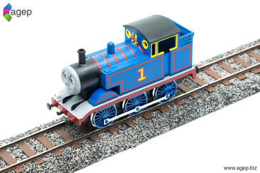 3D Printed Thomas - The Making of a Miniature by agepbiz