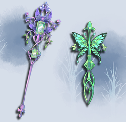 Weapon Adoption 11 SOLD by Forged-Artifacts