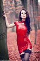 Red Latex_2 by ModelLillithy