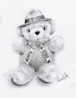 Canadian Teddy Bear Realistic by nor-renee