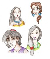 some of my friends by WDisneyRP-Alice