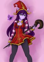 Leagues of Legends: Lulu the Fae Sorceress by ChiyaDreams