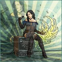 Yennefer by Maxifen